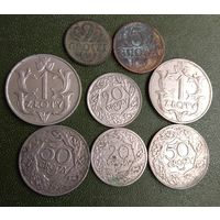 147 грошей  и 2 злотых 1929  Польши ( Rzeczpospolita Polska )