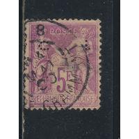 Франция 1877 Вып Мир и Торговля Стандарт #95