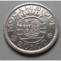 Мозамбик 20 эскудо 1952 г.