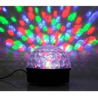Светодиодный RGB LED Диско Шар с MP3 плеером