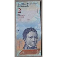 Венесуэла 2 боливара