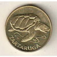 Кабо-Верде 1 эскудо 1994 Черепаха