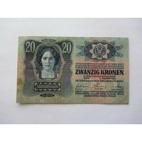 Венгрия, 20 крон , 1913 г.