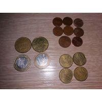 Евро и Евроценты разные...одним лотом