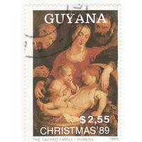 Святое семейство, Рубенс 1989 год