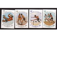 Замбия-1984,(Мих.314-317)  **  Спорт, ОИ-1984