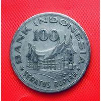 15-02 Индонезия, 100 рупий 1978 г.