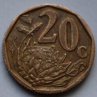 20 центов 2005 ЮАР