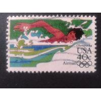США 1983 олимпиада, плавание