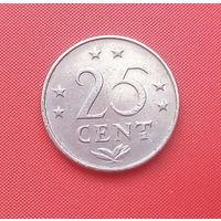 62-25 Антильские острова, 25 центов 1977 г.