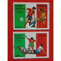 Гвинея-Бисау 1989 г. Спорт.