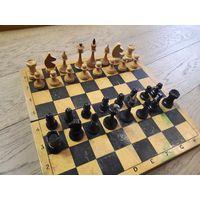 Шахматы советские, классические, дерево.