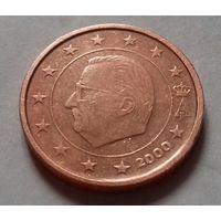 2 евроцента, Бельгия 2000 г.