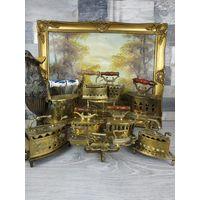 Большая коллекция латунные утюжки, называются манжетные, Австрия/Германия/ Франция! все вместе или по отдельности