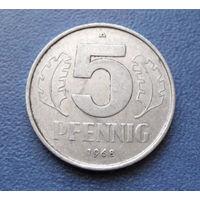 5 пфеннигов 1968 год (А) ГДР #04