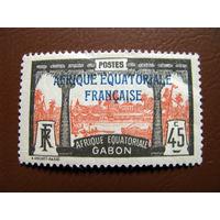 Габон 1924 Франция