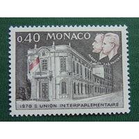 Монако 1970г.  Архитектура. Известные люди.