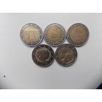 Монеты евро 3