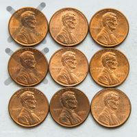 1 цент США 1988. Поштучно