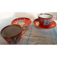 Чайные пары Мальва на 2 персоны