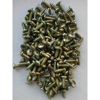 Саморезы - 100 штук - Длина 14 мм/Диаметр 4 мм - Одним лотом.