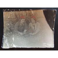 """Фото """"Переселенцы из Молодечно, золотые прииски в Якутии"""",  г. Томмот, 1937 г."""