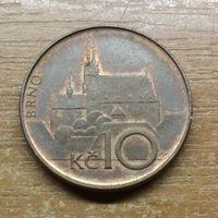 Чехия 10 крон 1993 _РАСПРОДАЖА КОЛЛЕКЦИИ