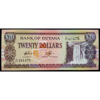 Гайана 20 долларов 2009 (sign14) UNC