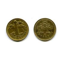 Барбадос 5 центов 1988 состояние