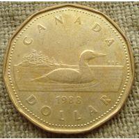 1 доллар 1988 Канада