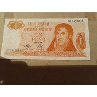 Аргентина 1 песо 1970-1973