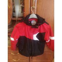 Куртка горнолыжная на 7-10лет