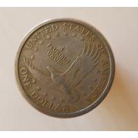 1 доллар США, 2000 D Сакагавея (Индианка)