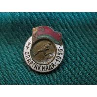 Значок спортивный Спартакиада 1956 г