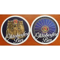 Подставка под пиво Paulaner No 32, Oktoberfest Bier
