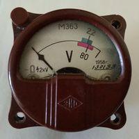 Вольтметр М363. Винтажный.