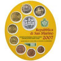 Сан Марино набор евро 2007 (9 монет)