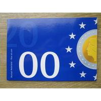 Нидерланды годовой сет монет 2000 в оригинальной упаковке - UNC