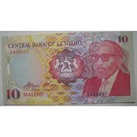Лесото 10 малоти 1990 г.
