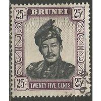 Бруней. Султан Омар Али Сайфуддин. 1952г. Mi#87.