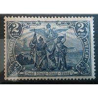 """Германия Стандарт Wz 1 """"Север и Юг"""" 2 М (**) 1905-1913 гг"""