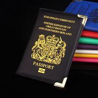 """Обложка на паспорт из искусственной кожи """"Соединенное Королевство Великобритании """" распродажа"""