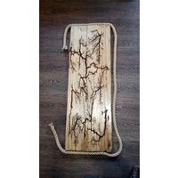 Панно деревянное для интерьера