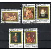 Живопись из Эрмитажа Мадагаскар 1986 год серия из 5 марок