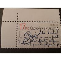 Чехия 2008 Европа письмо
