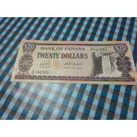 20 долларов Гайаны741531