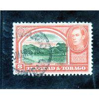 Тринидад и Тобаго.Ми-139. Королевский парк. Саванна. Король ГеоргVI. 1938