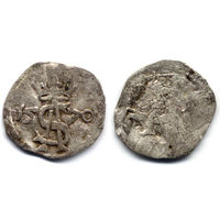 Двуденар 1570, Жигимонт Август, Вильно