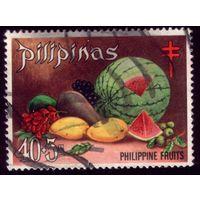 1 марка 1972 год Филиппины Арбуз порто 35