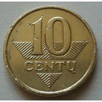 10 центов 2008 Литва